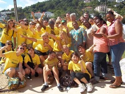 Volunteers in Jamaica