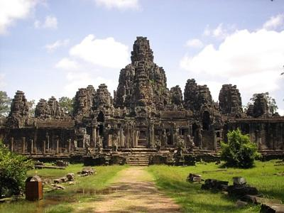 Angkor Wat, a local tourist attraction at the Projects Abroad placement in Cambodia, Asia