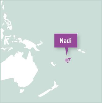 Volunteer placement location in Nadi, Fiji