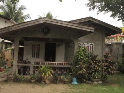 Host family house in the Philippines