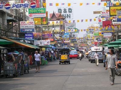 泰國市內街景,東南亞義工在工作以外的旅遊時光