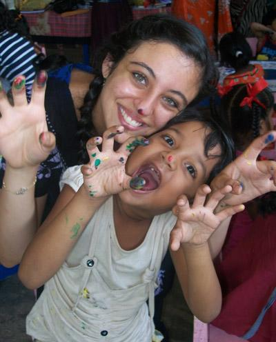 Project Abroad's International Volunteer Opportunities include caring for children