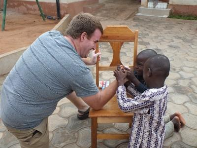 Travel to volunteer overseas to help children in need