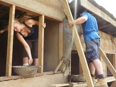 Gap year general construction projects in Ghana