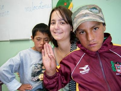 Volunteer with Special Needs Children in Peru