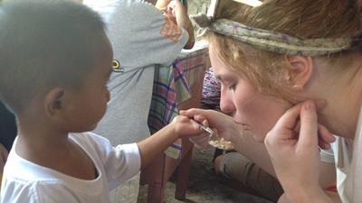 Projects Abroad義工和菲律賓孩子的相處時光