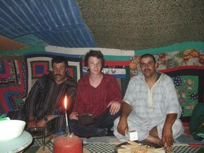 義工在摩洛哥融入當地的游牧生活