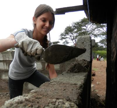 Build a nursery school in Tanzania as a High School Special volunteer