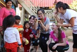 國際義工 柬埔寨