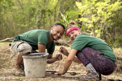 Help with reforestation on the Tropical Dry Forest Project for Teens in Costa Rica