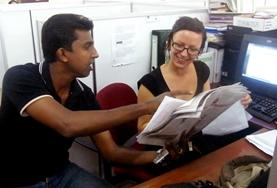 Volunteer in Sri Lanka: Journalism