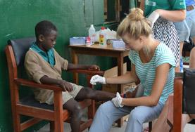 Volunteer Ghana