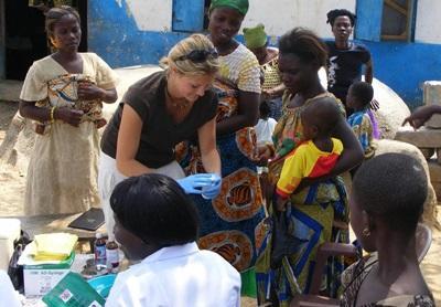 義工參與加納的公共健康實習項目