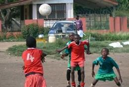 Volunteer in Ghana: Football