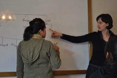 玻利維亞在大學參與教學義工項目授課