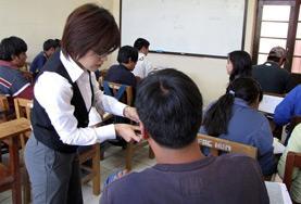國際義工 教學項目