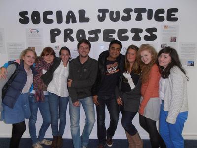 參與南非高中生義工營活動,認識如何提升大眾的人權意識
